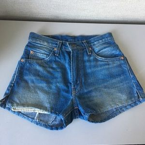 Levi's Vintage Clothing 505 Selvedge Jean Shorts